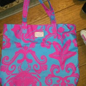 Lilly Pulitzer for Estee Lauder Tote